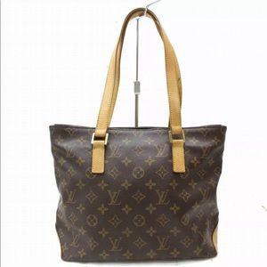Authentic Louis Vuitton Monogram Cabas Piano Bag